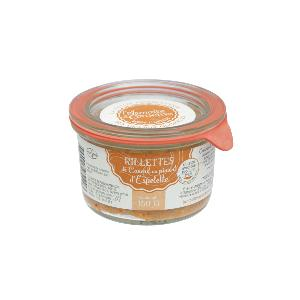Rillettes Piment 150gr